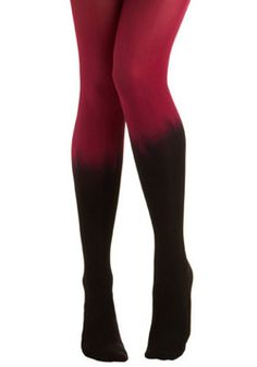Oh my!  Ombre tights. I love these!
