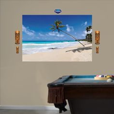 FATHEAD Tropical Beach Mural Graphic Wall Dcor >>> You can find out more details at the link of the image.