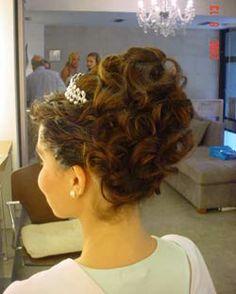 peinados altos  | peinados para novias altos