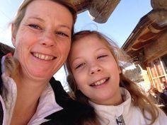 Heerlijke dag @Flachau met dochterlief in de sneeuw