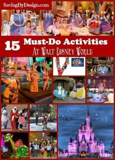 Plan the perfect vacation to Walt Disney World Resort with these 15 activities you must do on your trip & order your FREE Disney Parks Vacation Planning DVD!