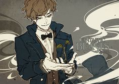 """""""I'm sorry Pickett, you know I would never get rid of you."""" Newt Scamander from Fantastic Beasts"""