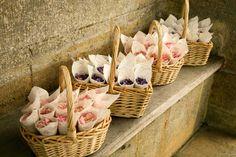 Real flower petal confetti, natural rose petals in wedding cones Confetti Basket, Confetti Cones, Confetti Ideas, Rose Petal Confetti, Wedding Confetti, Fresh Rose Petals, Flower Petals, Wedding Flower Girl Dresses, Wedding Flowers