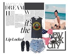 """""""Beach"""" by morgan-ashley-muller ❤ liked on Polyvore"""