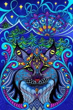 the lynx - phil lewis #ART #PSYCHEDELIC #LINX #PHILLEWIS