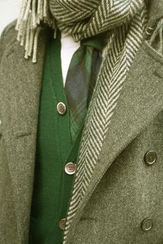 spgent: wearing the green
