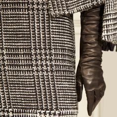 Long leather gloves make a comeback Brooks Brothers Long Gloves, Leather Gloves, Brooks Brothers, Every Woman, Classic Looks, Tweed, Autumn Fashion, Cashmere, Dressing