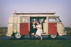 Aoife and Gary arrived at The Claregalway Hotel in style in a Volkswagen Vintage Camper Van. Wedding Photography by Marriage Multimedia Vintage Camper, Car Volkswagen, Camper Van, Marriage, Wedding Photography, Bride, City, Wedding Cars, 70's Style