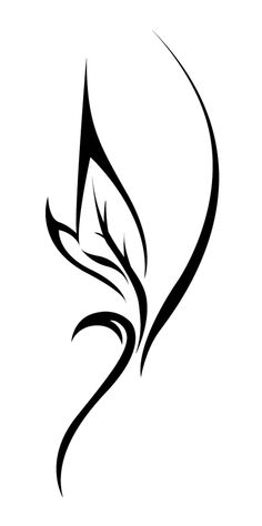 Leaf Tattoo - in place of the feather. This could be my tattoo for you, Heather.