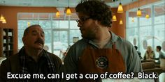 """""""You take it black? Even iced coffee?""""   Community Post: 14 Things Everyone Who Loves Black Coffee Is Tired Of Hearing"""