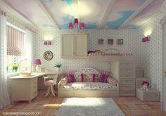 Szín és dekoráció ötletek - lányszobák pink és lila témára | Lakberendezés, Lakberendező, Lakberendezési Ötletek, Építészet