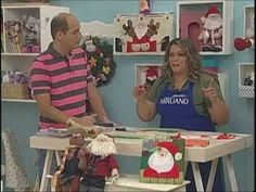 Ateliê na Tv - Tv Século - 13-11-12  TAPETE LEÃO