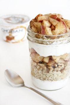 Apple Pie Parfait In a Jar