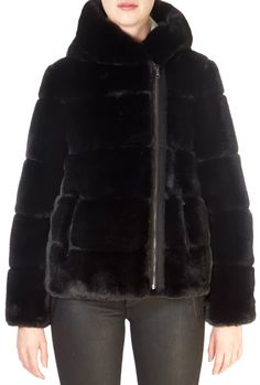 This is the stunning 'Solveig' Black Faux Fur Coat from our friends at Giovanni! SHOP NOW! Black Faux Fur Coat, Taupe, Beige, Sheepskin Coat, Cute Winter Outfits, Shop Now, Winter Jackets, Fashion Outfits, Shopping