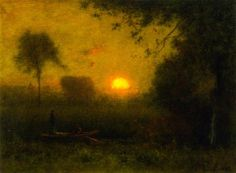 The Sun by George Inness