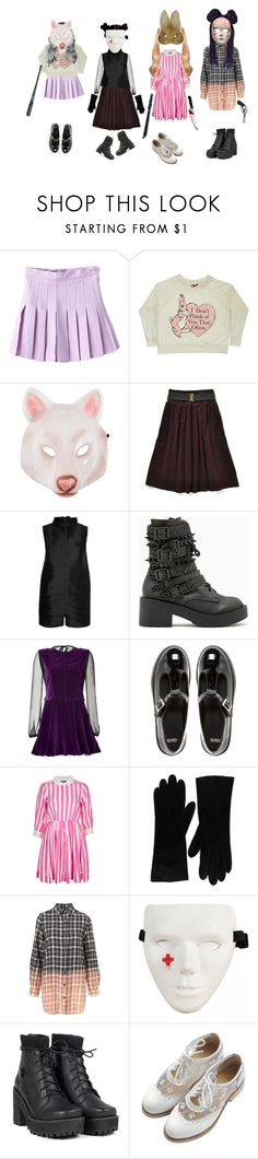 """""""Harmless"""" by holly-in-disguise ❤ liked on Polyvore featuring Hot Topic, Rick Owens, Jeffrey Campbell, Alberta Ferretti, ASOS, Topshop, Christian Dior and Revolver"""