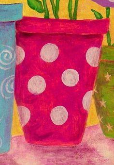 Folk Art Abstract Flowers Original by johnblakefolkartist on Etsy Abstract Flowers, Abstract Art, John Blake, Original Paintings, Original Art, Watercolor Paper, Folk Art, Artsy, The Originals