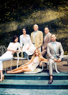 The Cast of Downton Abbey for the Hollywood Reporter