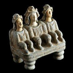 Bactrian sculpture millennium BC - M Ancient Aliens, Ancient History, Art History, Bronze Age Civilization, Ancient Near East, Art Premier, Orient, Ancient Artifacts, Ancient Civilizations