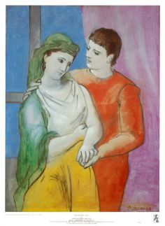 """""""The Lovers""""  by Picasso"""