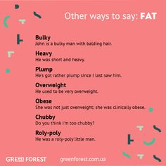 Synonyms to the word FAT. Other ways to say FAT.
