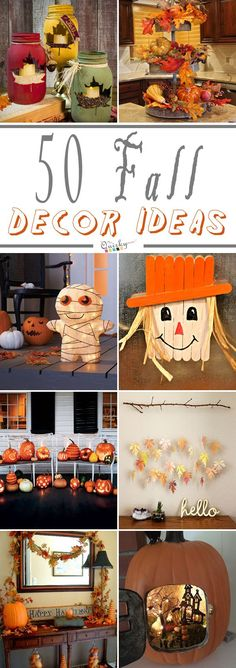 Decorate your inside or outside of home with the help of these amazing fall decor ideas.