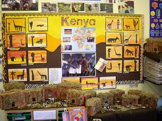 Kenyan sunsets by Emu582, via Flickr Class Displays, School Displays, Primary Classroom Displays, Classroom Fun, Handas Surprise, Teaching Geography, Geography Classroom, Summer Camp Themes, Continents And Oceans