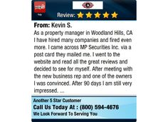 As a property manager in Woodland Hills, CA I have hired many companies and fired even...