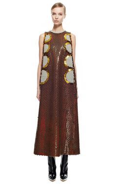 A-Line Dress In Embroidered Wool by DELPOZO for Preorder on Moda Operandi