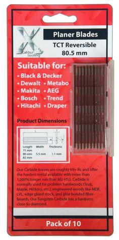 DeWALT DE7330 317MM HSS Portable Planer Thicknesser Blades For DW733  S703S4