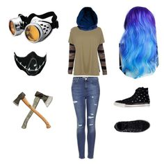 """""""Ticci Toby"""" by darkvioletbeauty ❤ liked on Polyvore"""