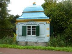 Teahouse next to river de Vecht, The Netherlands
