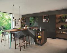 The New Black Line kitchen from team 7 at wharfside