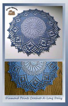 www.crochetmemories.com/blog Free pattern for a thread doily