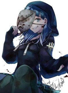 Legion Dead By Daylight Relife Anime, Dark Anime, Anime Demon, Anime Art, Horror Movie Characters, Anime Characters, Art Manga, Zombie Girl, Cute Anime Pics