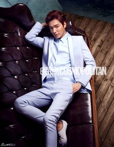 GUY CANDY: Lee Min Ho takes on Cosmopolitan, part 1