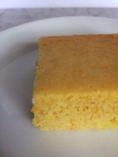 low-carb orange sponge cake recipe