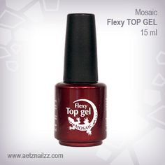 Flexy Top Gel Very flexible top gloss for natural nail manicure or it can be used as a top gloss for sculpted gel nails. Cure time is 2 mins in UV lamp or secs in LED lamp. Foil Nail Art, Foil Nails, Sculpted Gel Nails, Nail Supply, Nail Studio, Nail Manicure, Natural Nails, Stores, Gel Polish