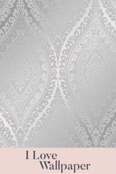This gorgeous paper features a beautiful wave pattern in shades of grey, brought alive by the silver highlights and finished with a delicate coating of glitter, providing a luxurious, welcoming and fresh feel to any living area in your home. White And Silver Wallpaper, Metallic Wallpaper, Damask Wallpaper, Geometric Wallpaper, Textured Wallpaper, Pattern Wallpaper, Waves Wallpaper, Cheap Wallpaper, Boys Wallpaper