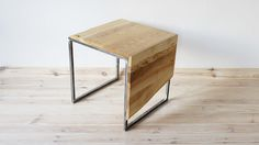 Industrial coffee table Forest Cube by Projekt Drewno