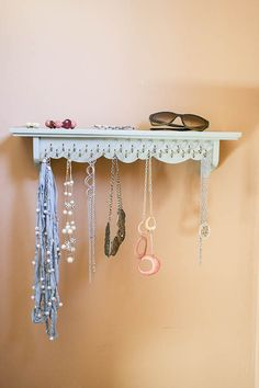 DIY Necklace Holder | Someday I'll Learn