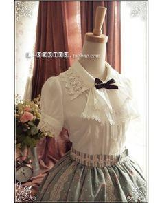 R-series Fantasy IX Comtesse Lolita Blouse $69.99-Lolita Shirts - My Lolita Dress