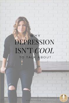 Why Depression Isn't Cool to Talk About Bad Bad, Isn, The Fosters, Depression, Graphic Sweatshirt, Cool Stuff, Sweatshirts, Jewelry, Fashion