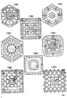 Схема вязания 190-197