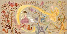 Princess Rapunzel - princess-rapunzel-from-tangled Fan Art Disney Rapunzel, Disney Princess Art, Tangled Rapunzel, Princess Rapunzel, Arte Disney, Disney Magic, Disney Art, Tangled Room, Princess Mural