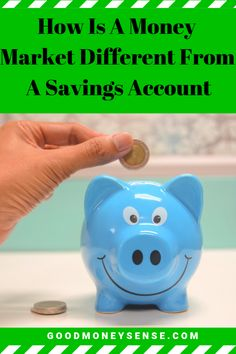 Money Market Accounts vs Savings Accounts: Which Is A Better Choice? Online Bank Account, Money Market Account, Small Business Accounting, Financial Accounting, Take Money, Make More Money, High Yield Savings Account, Savings Accounts, Atm Card