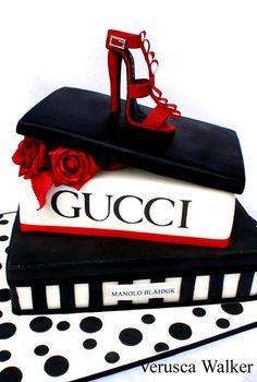 Gucci Cake by Verusca.deviantart.com on @deviantART