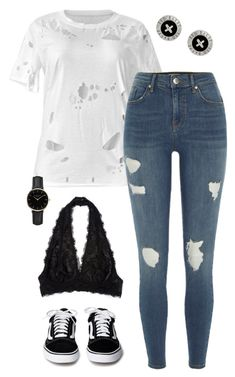 """""""#193"""" by mintgreenb on Polyvore featuring River Island, Ted Baker and ROSEFIELD"""