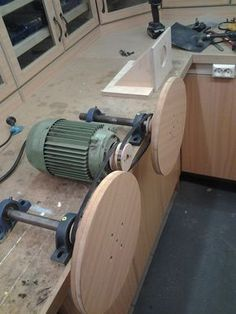 Building The Double Disc Sander