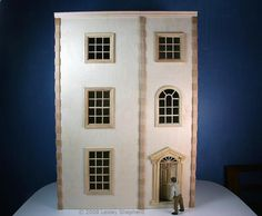 Quick Build Display Projects for Dollhouse Miniatures or Dioramas: Build a Front Opening Dollhouse or Bookcase Dollhouse